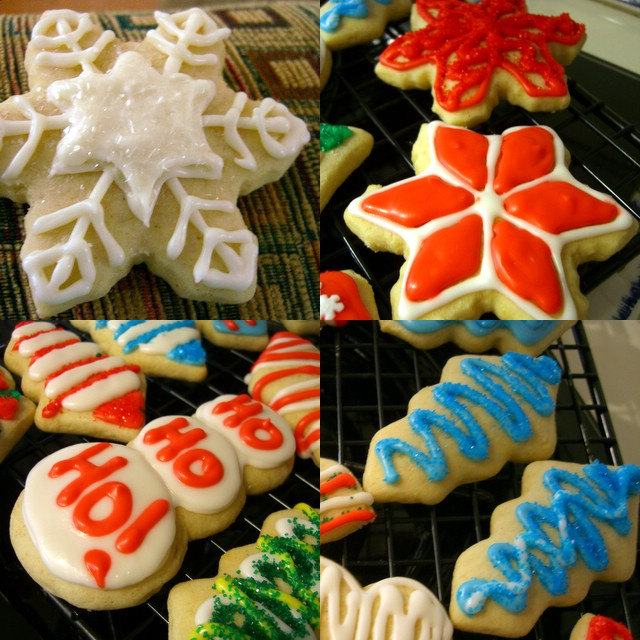 Soft Cutout Christmas Cookies Baking Bites