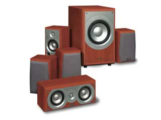 infinity home theater speakers. infinity 5.1 home theater speaker system w/ subwoofer speakers k