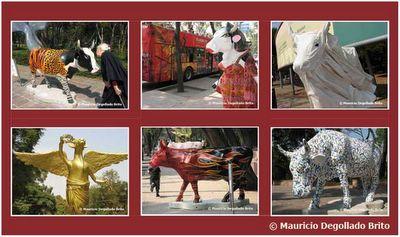 Exposicion las vacas de reforma - Cuadros de vacas ...
