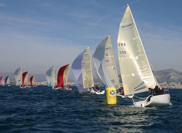 valencia sailing italy 39 s nicola celon wins melges 24 class at snim. Black Bedroom Furniture Sets. Home Design Ideas