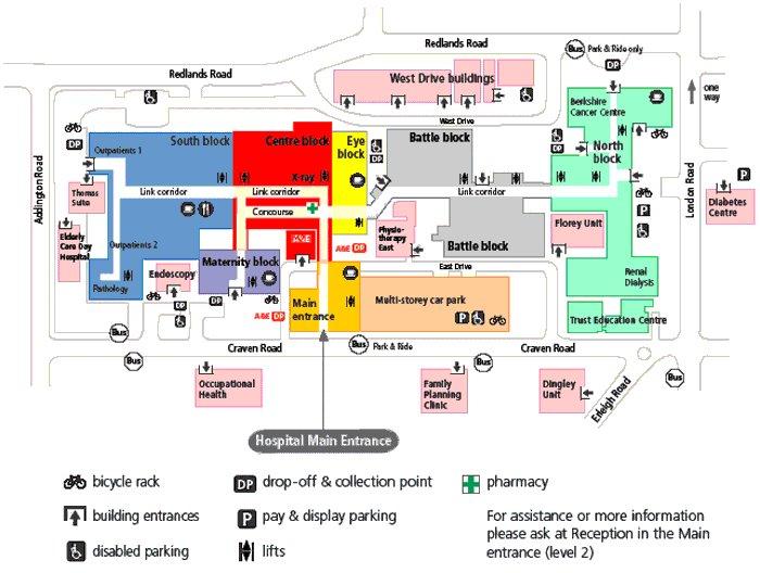 Royal Free Hospital Car Park