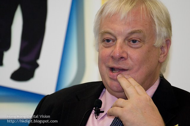 Chris Patten, Christopher Francis Patten, Baron Patten of Barnes (彭定康)