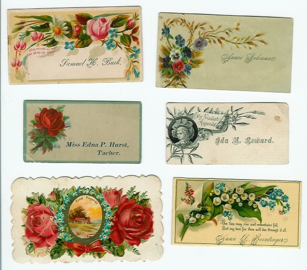 Family Papers and Postcards from the Past: Victorian Calling Cards