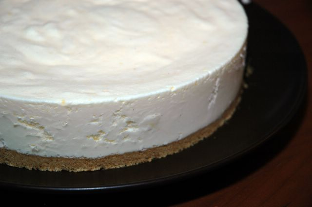 fryst cheesecake citron