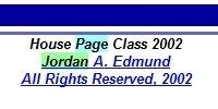 Jordan A. Edmund House Page Class 2002