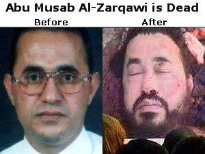 Abu Musab Al-Zarqawi is Dead