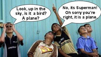Muslim Children See Supernam?