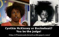 Cynthia McKinney and Buckwheat