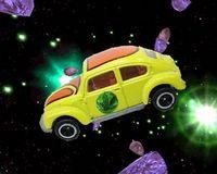Moonbat VW Bug shuttle craft