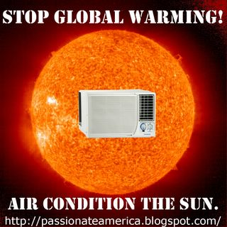 Stop Global Warming, Air Condition The Sun!
