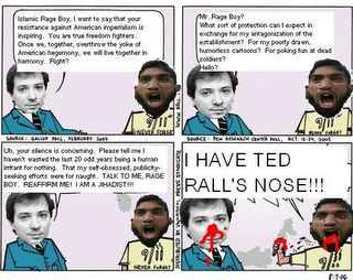 Islamic Rage Boy and Ted Rall