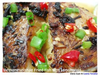 Vietnamese-Style Fried Fish With Lemon Grass