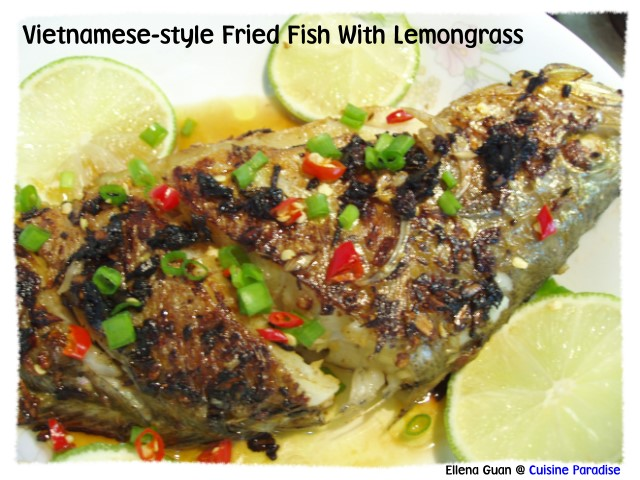 Vietnamese crispy fish for What goes good with fried fish