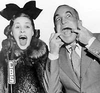 Photo: Martha Raye and Al Jolson