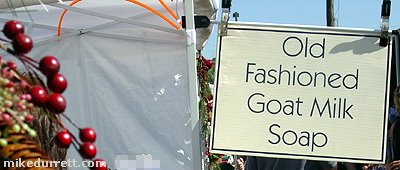Sign photo: Old Fashioned Goat Milk Soap