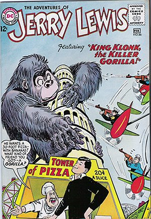 Photo: The Adventures of Jerry Lewis comic book with the Killer Gorilla.