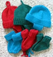 Infant hats and socks