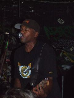Chuck Treece/McRad - CBGB, NYC