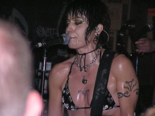 Joan Jett @ CBGB, NYC, June 7, 2006