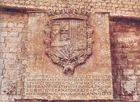cartela epigráfica de 1585