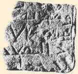 fragmento de lápida árabe hallado en can Constantí