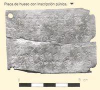 pieza hallada en una campaña arqueológica de 2003