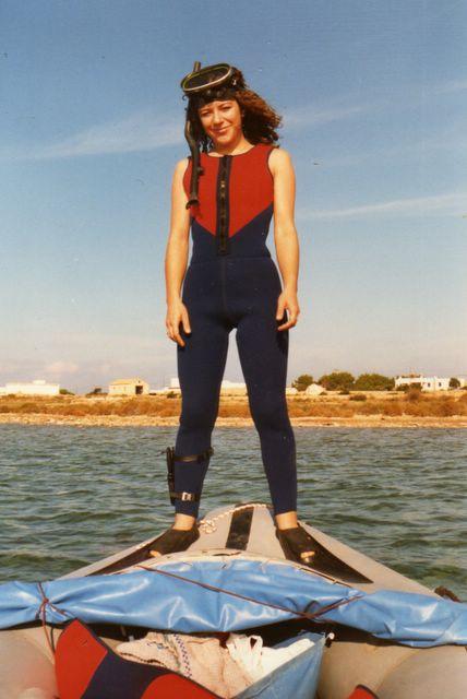 foto recuperada del archivo de Helena en diciembre 2005