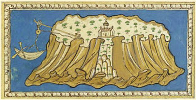 Kalógeros en una ilustración de finales del siglo XV