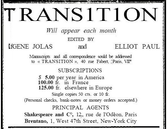 Elliot Paul funda 'transition'