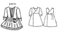 graphic about Free Printable 18 Inch Doll Clothes Patterns called meggiecat: Printable doll outfits styles