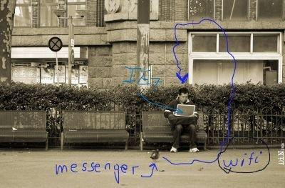 microsoft organic messenger; ©Neon 2006
