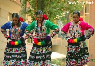 peruvian dancers 1