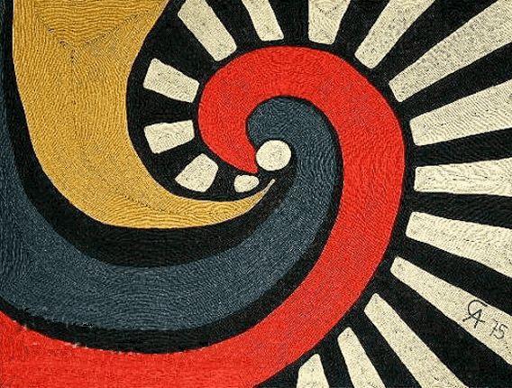 Alexander Calder, spiral.
