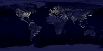 'Earthlights' by NASA.