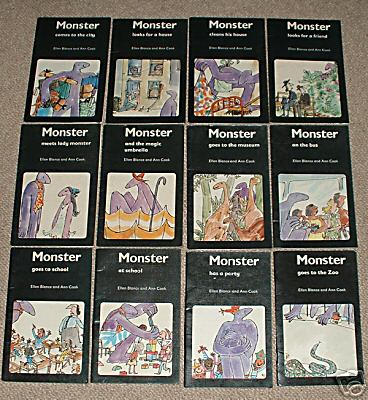 School Reading Books From The 50 S 60 S 70 S And 80 S Monster