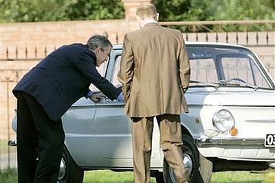 Putin's First Car