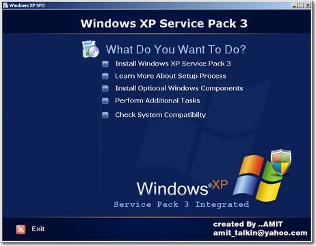 Windows XP SP3 Patch