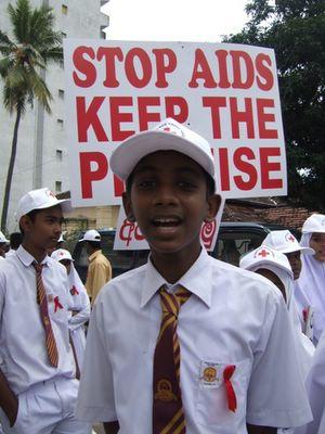 essay on stop aids keep the promise Leadership stop aids – keep the promise world aids day 2007.