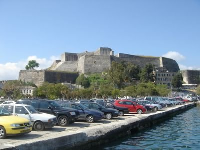 fort parking at the port