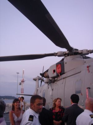 chopper view, hms lanacaster cocktail