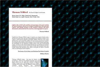 Thomas Wilfred Lumia by Richar Lovstrom