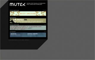 Mutek - International Festival of Music, Sound and New Technologies