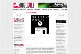 Screen Music Event - Digicult.it