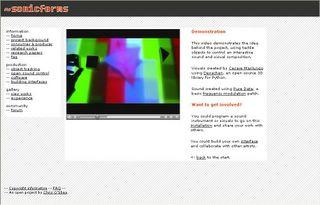 Chris O'Shea - Sonicforms installation