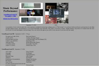 Music Beyond Performance: SoundImageSound - US