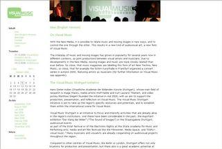 Website - visualmusic.net