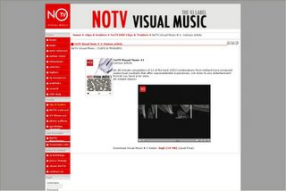 NOTV Visual Music - VJ Label