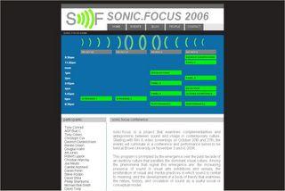 Sonic Focus 2006