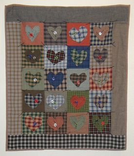 Homespun Heart Wall Hanging