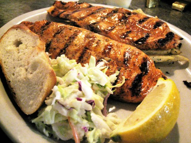 Monster munching california fish grill irvine for Fish and grill